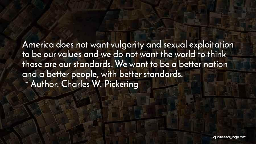 Charles W. Pickering Quotes 1102554