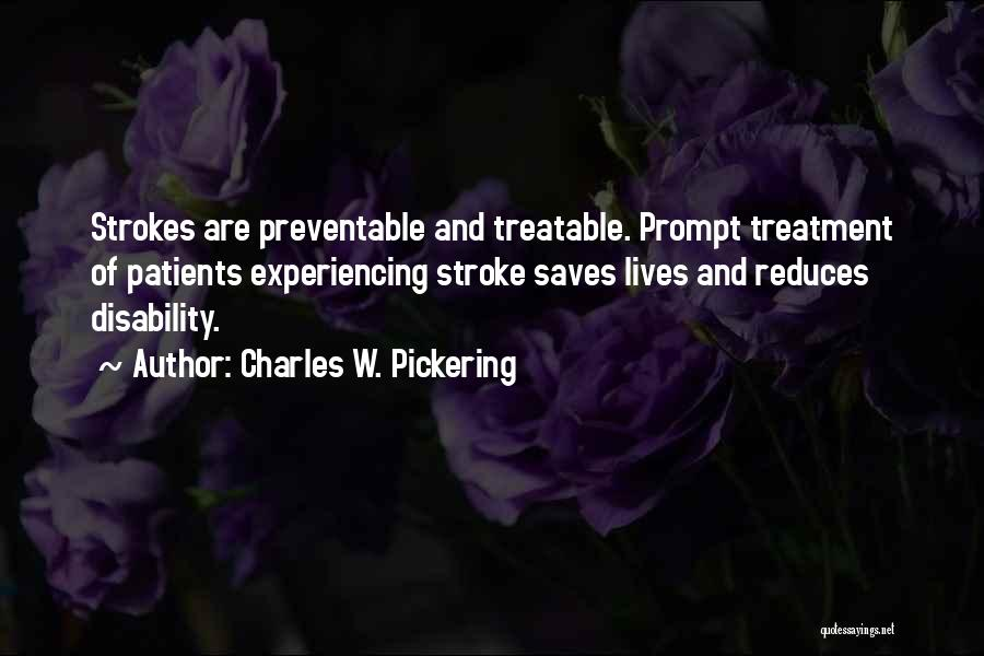 Charles W. Pickering Quotes 1766702