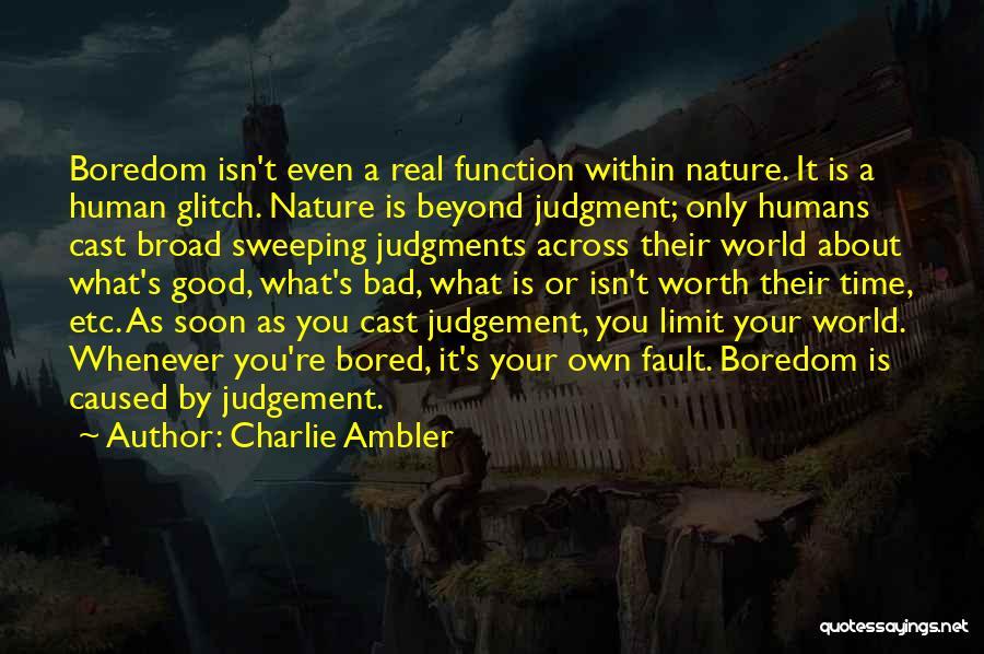 Charlie Ambler Quotes 861443
