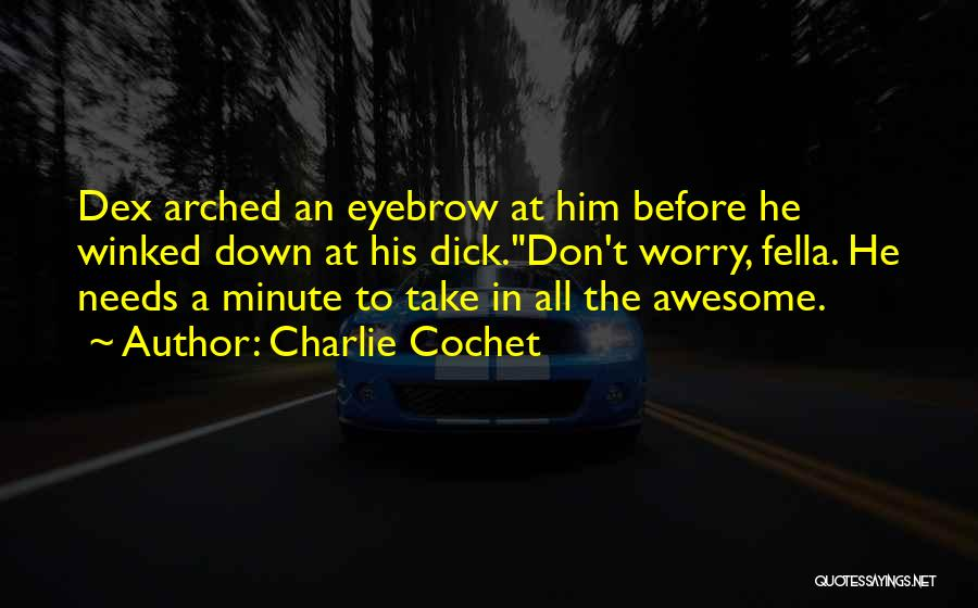 Charlie Cochet Quotes 994230