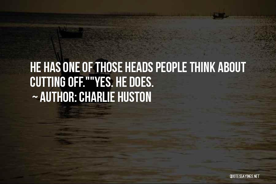 Charlie Huston Quotes 1253289