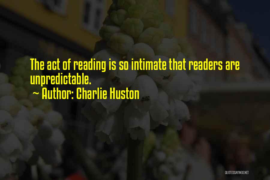 Charlie Huston Quotes 1902916