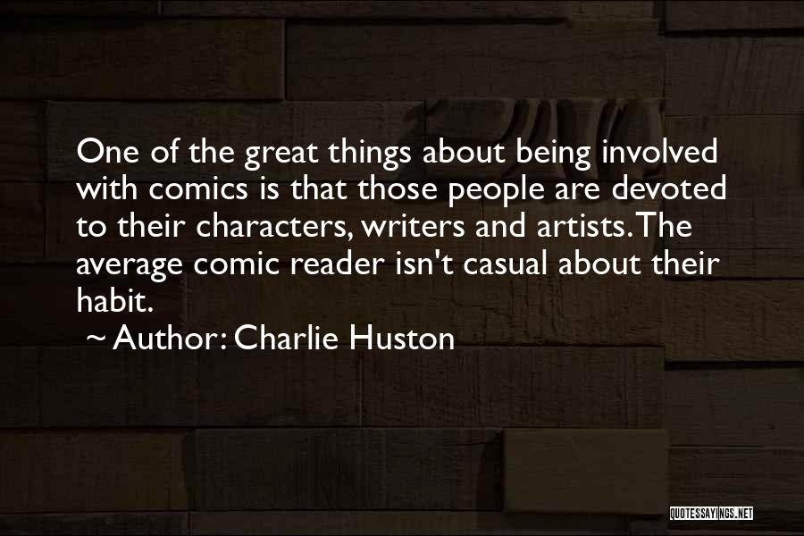 Charlie Huston Quotes 1951375