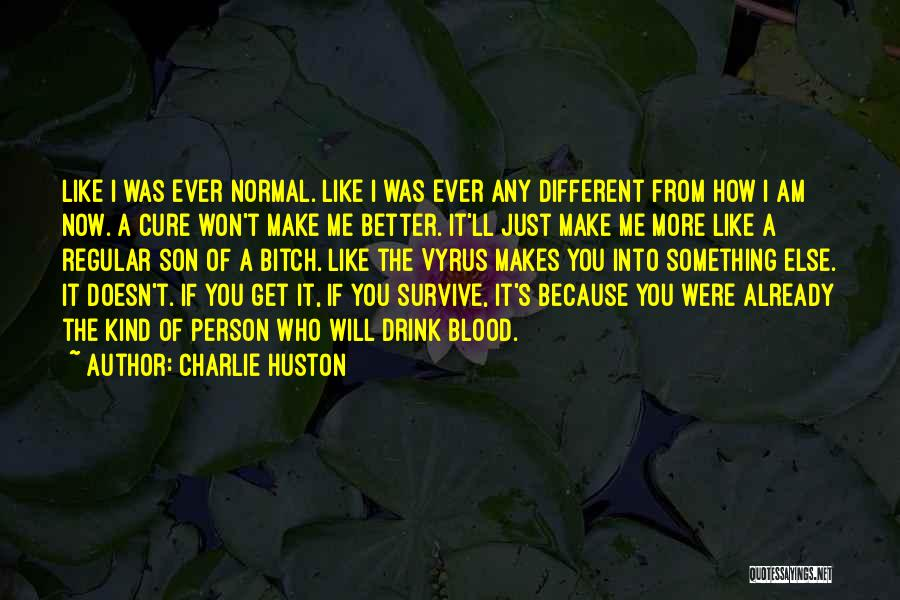 Charlie Huston Quotes 2239886