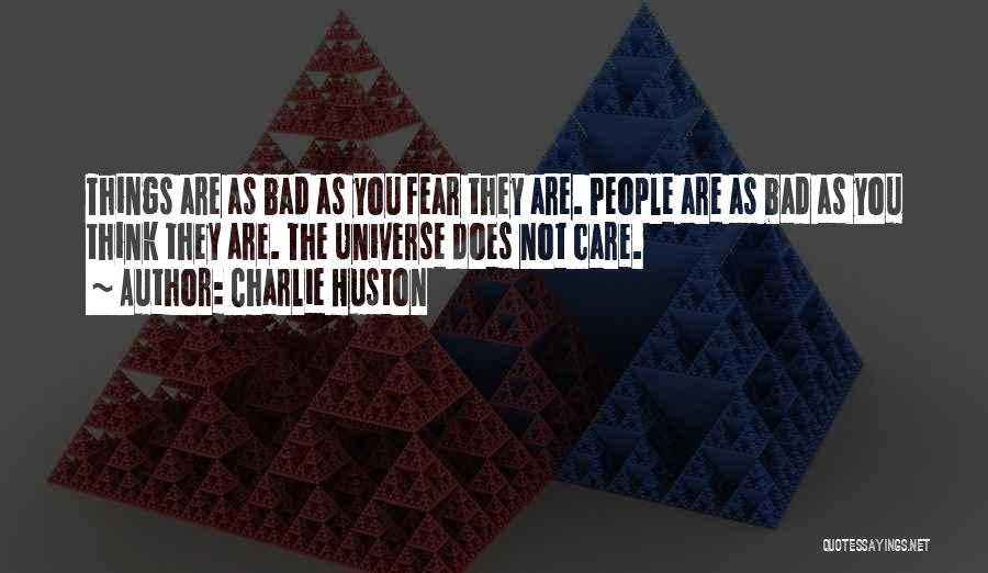 Charlie Huston Quotes 235557