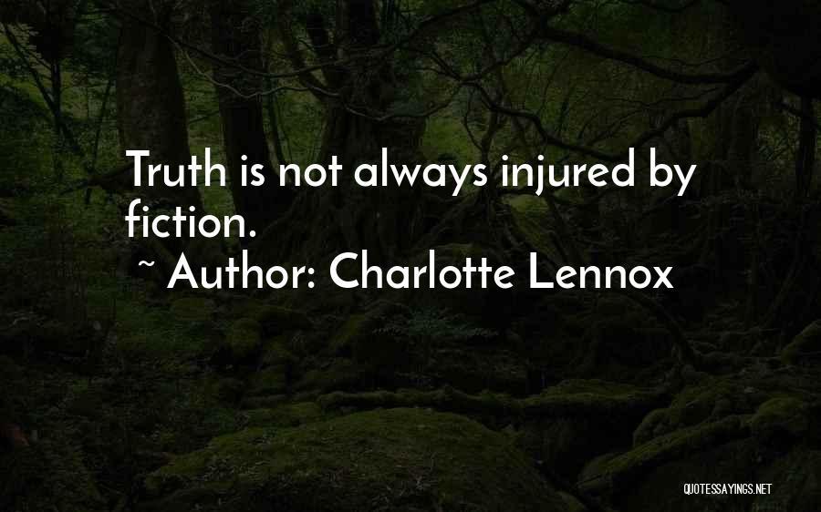 Charlotte Lennox Quotes 1958480