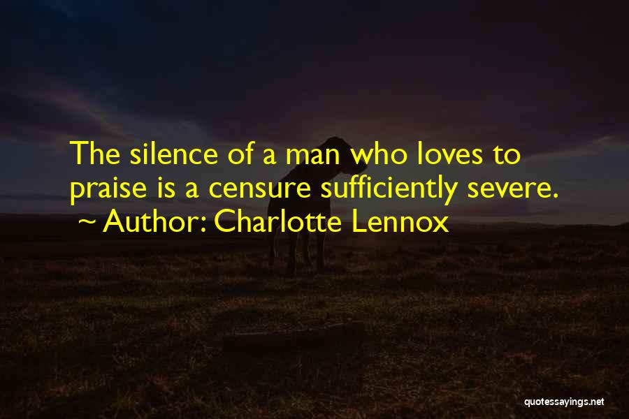 Charlotte Lennox Quotes 294677