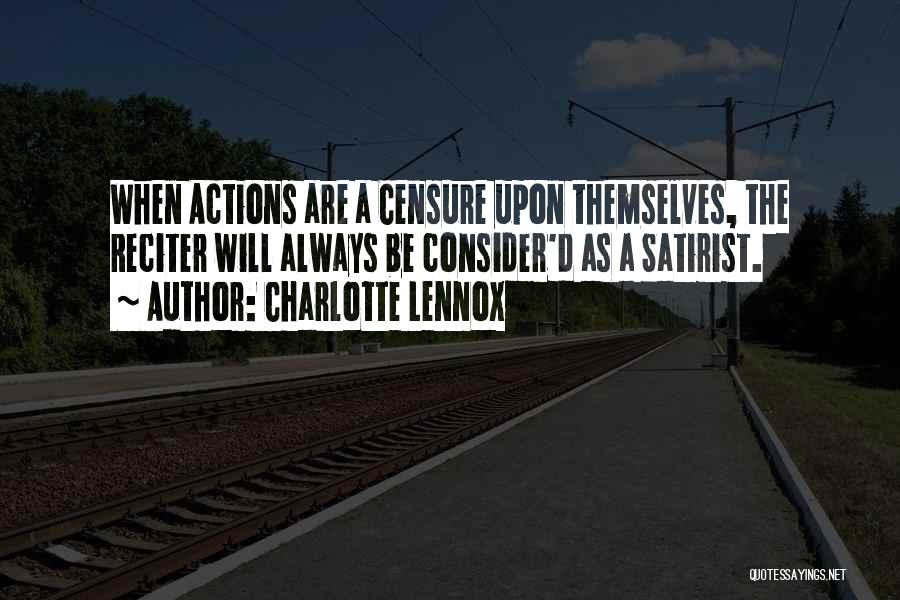 Charlotte Lennox Quotes 384780