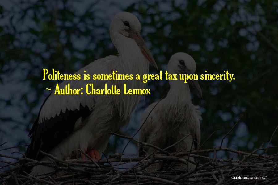 Charlotte Lennox Quotes 537221