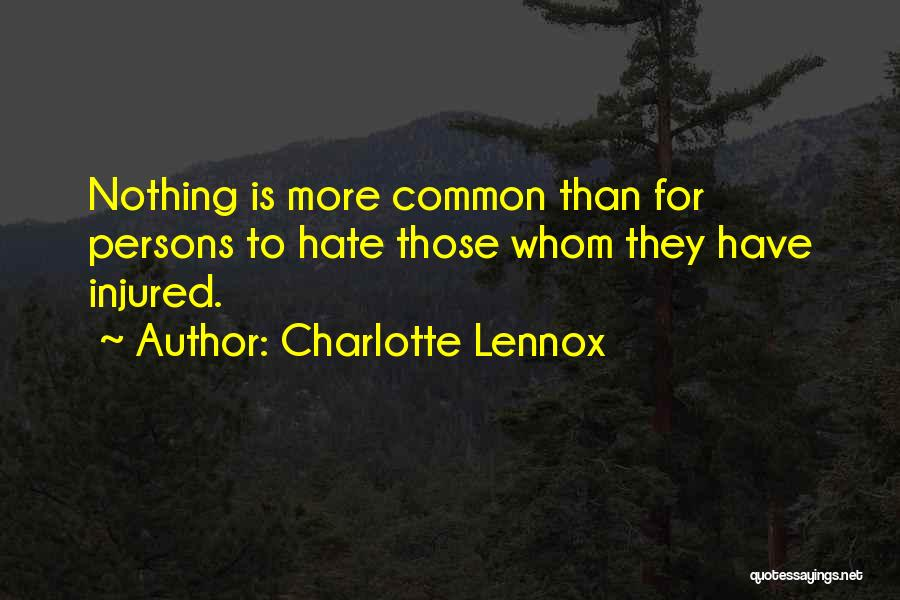 Charlotte Lennox Quotes 787199