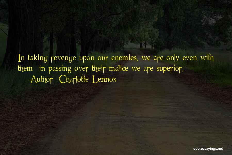 Charlotte Lennox Quotes 838213