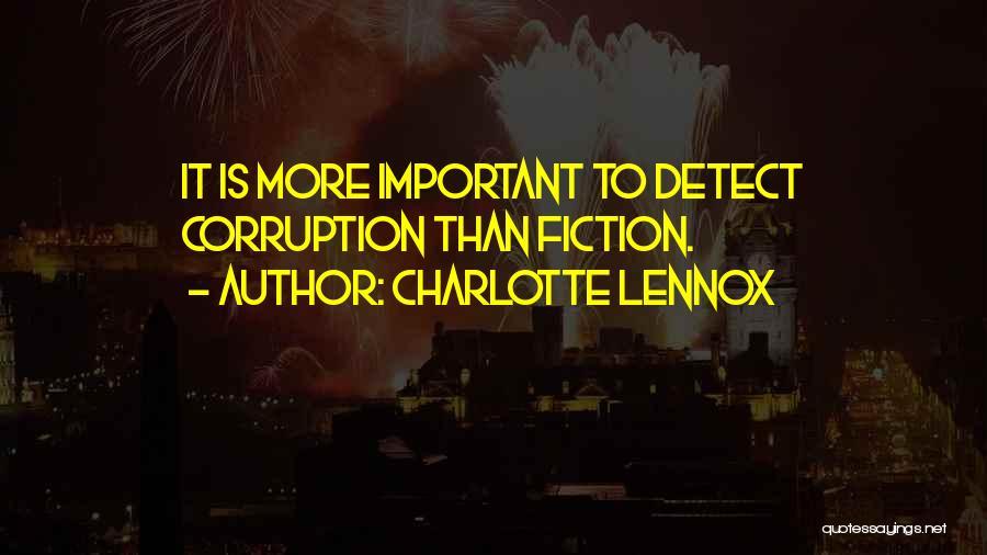 Charlotte Lennox Quotes 885413