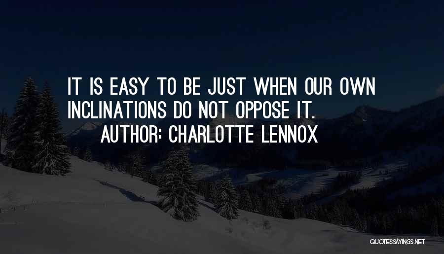 Charlotte Lennox Quotes 911774