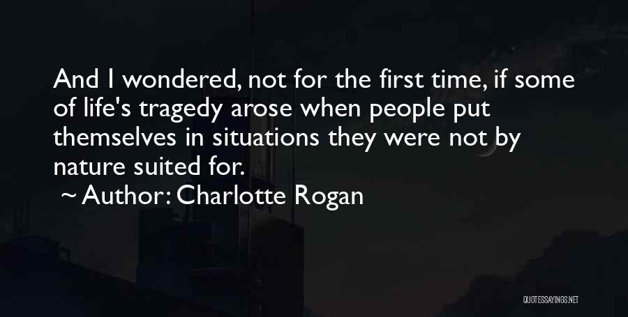 Charlotte Rogan Quotes 2141839