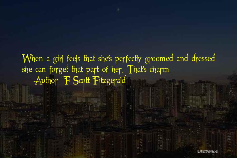 Charm Quotes By F Scott Fitzgerald