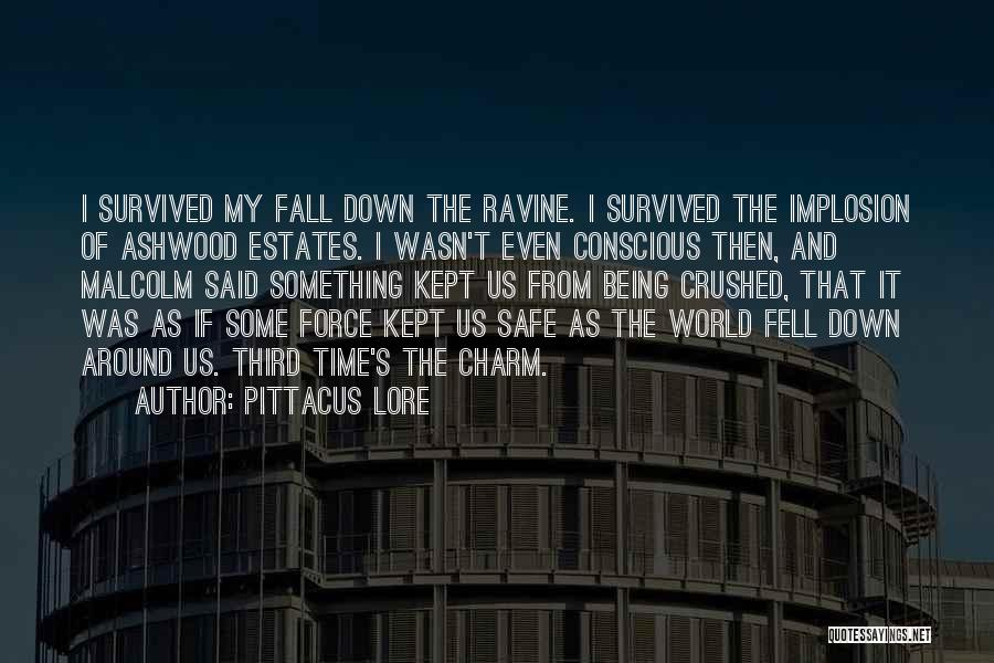 Charm Quotes By Pittacus Lore