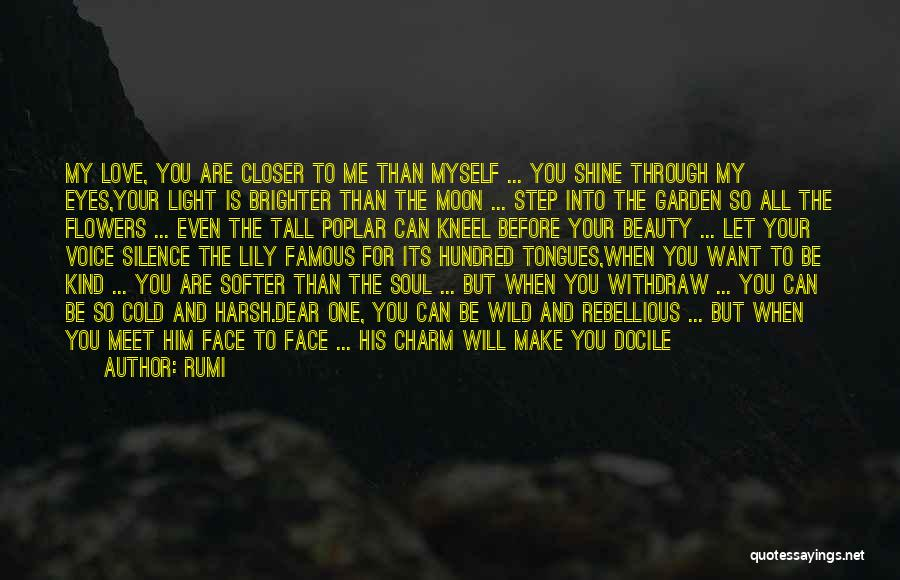 Charm Quotes By Rumi