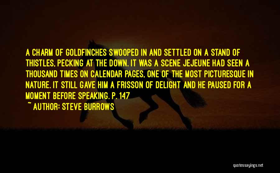 Charm Quotes By Steve Burrows