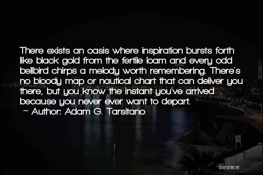 Chart Quotes By Adam G. Tarsitano