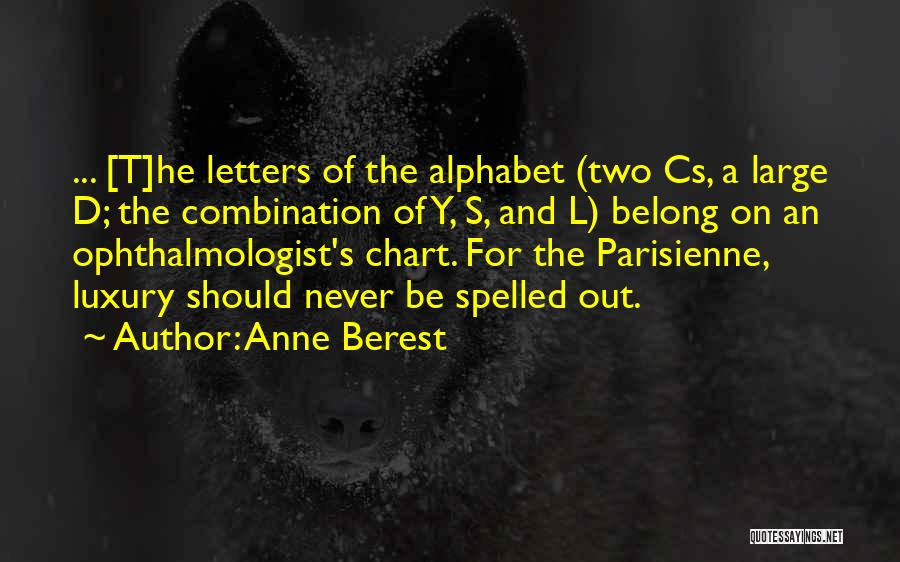 Chart Quotes By Anne Berest