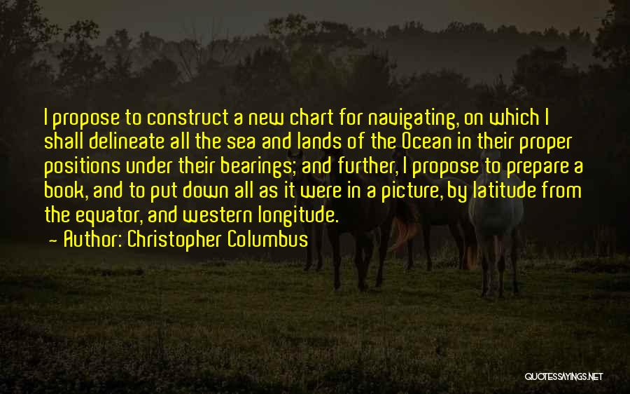 Chart Quotes By Christopher Columbus