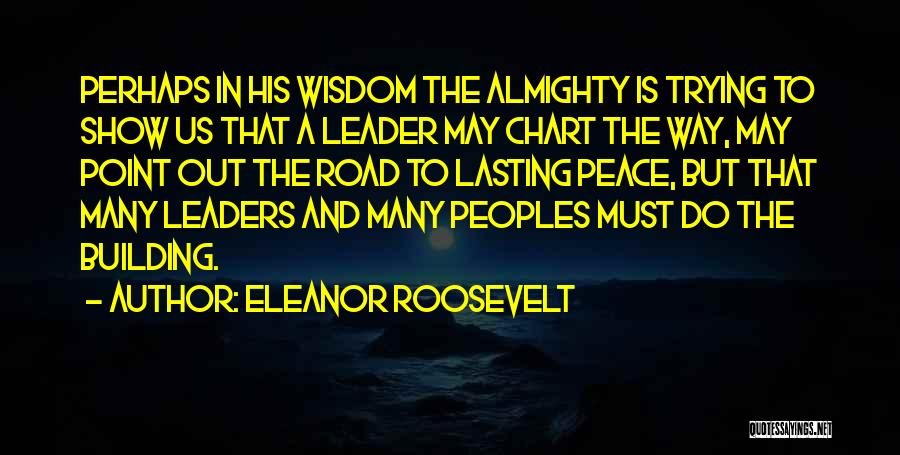 Chart Quotes By Eleanor Roosevelt