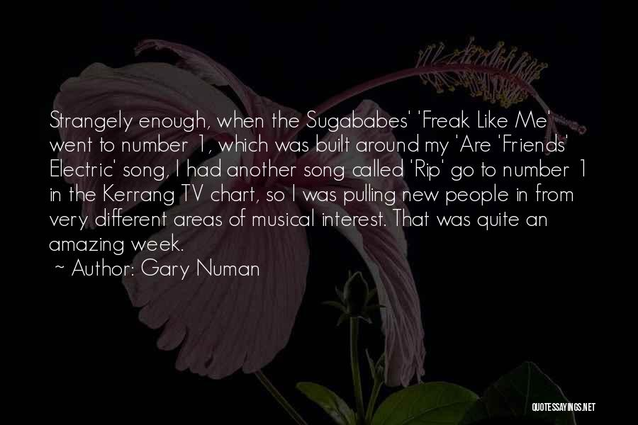 Chart Quotes By Gary Numan