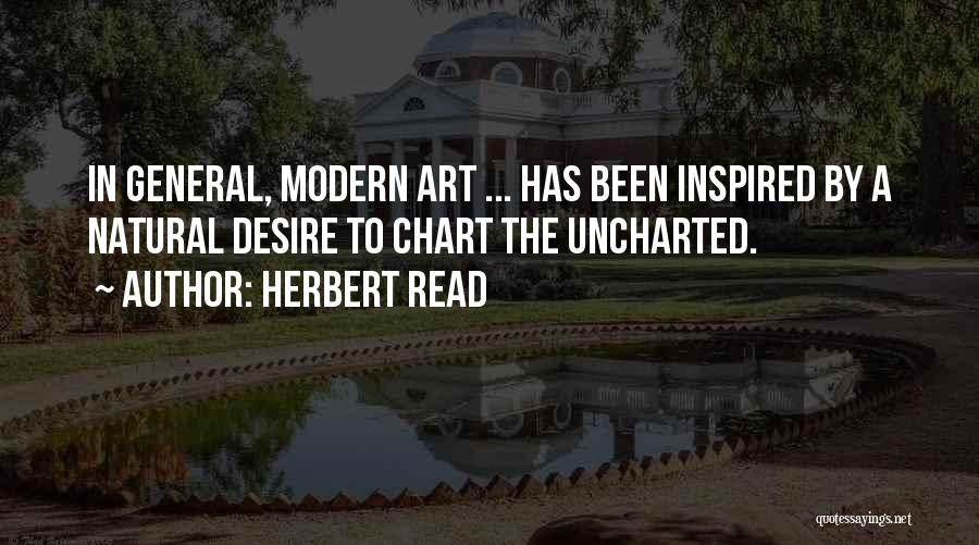 Chart Quotes By Herbert Read