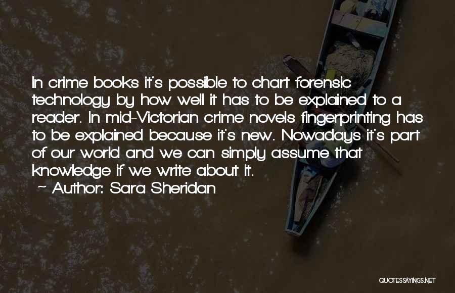 Chart Quotes By Sara Sheridan