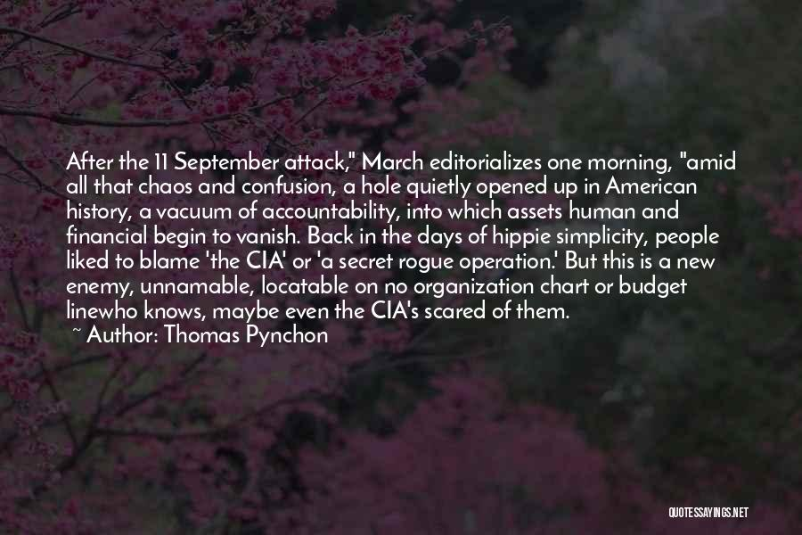 Chart Quotes By Thomas Pynchon