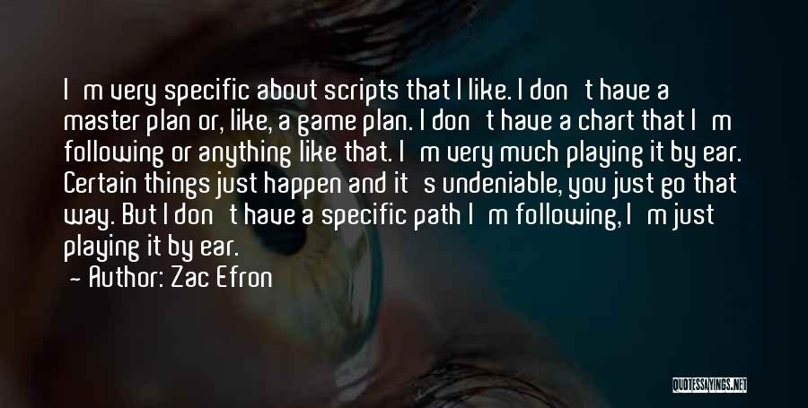 Chart Quotes By Zac Efron