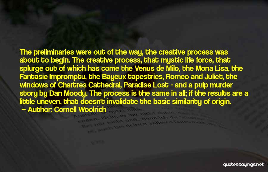 Chartres Quotes By Cornell Woolrich