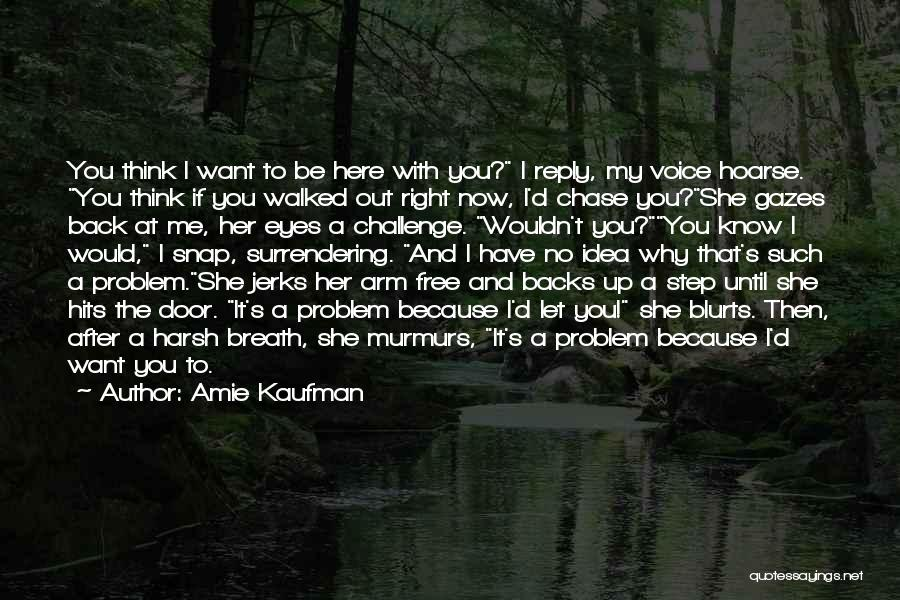Chase After Me Quotes By Amie Kaufman