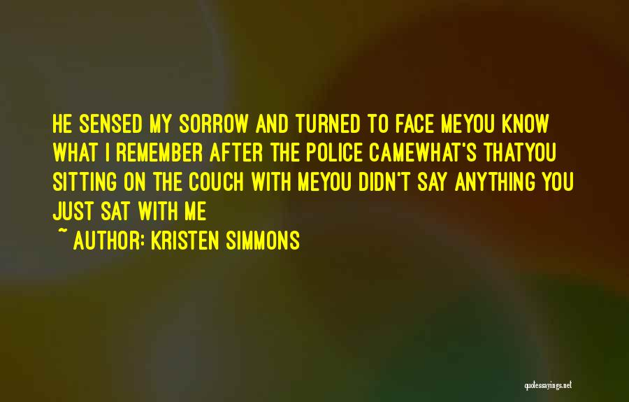 Chase After Me Quotes By Kristen Simmons