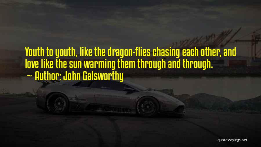 Chasing The Sun Quotes By John Galsworthy