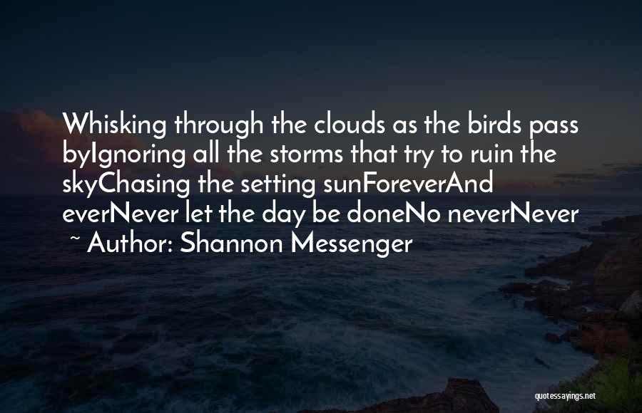 Chasing The Sun Quotes By Shannon Messenger