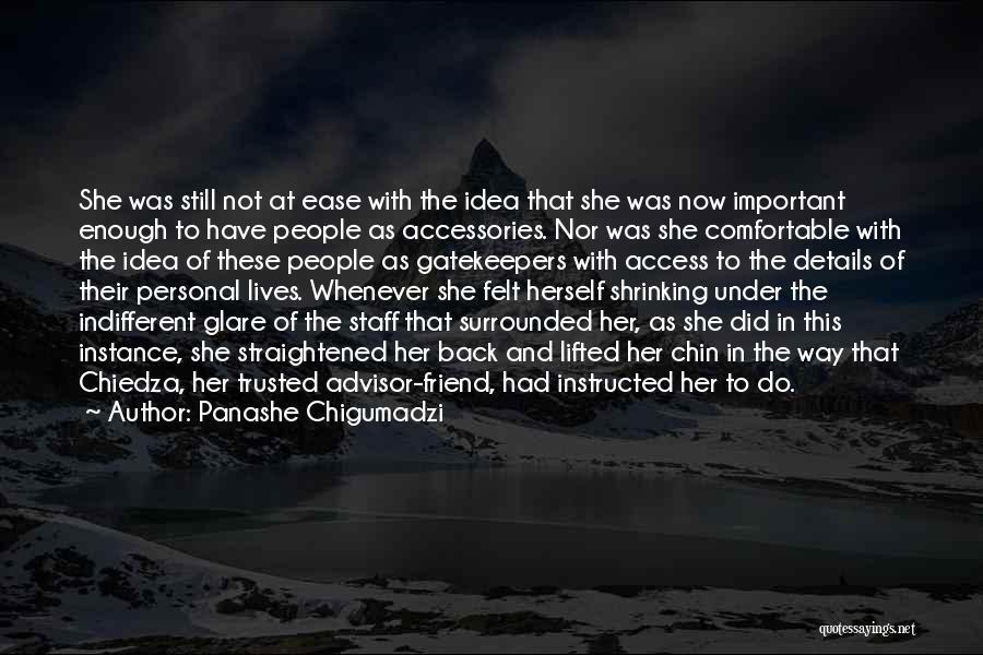 Cheating Friend Quotes By Panashe Chigumadzi
