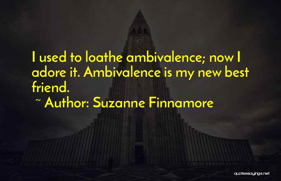 Cheating Friend Quotes By Suzanne Finnamore