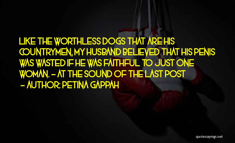 Cheating Husband Quotes By Petina Gappah