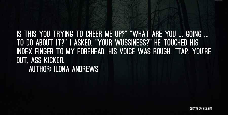 Cheer Voice Over Quotes By Ilona Andrews