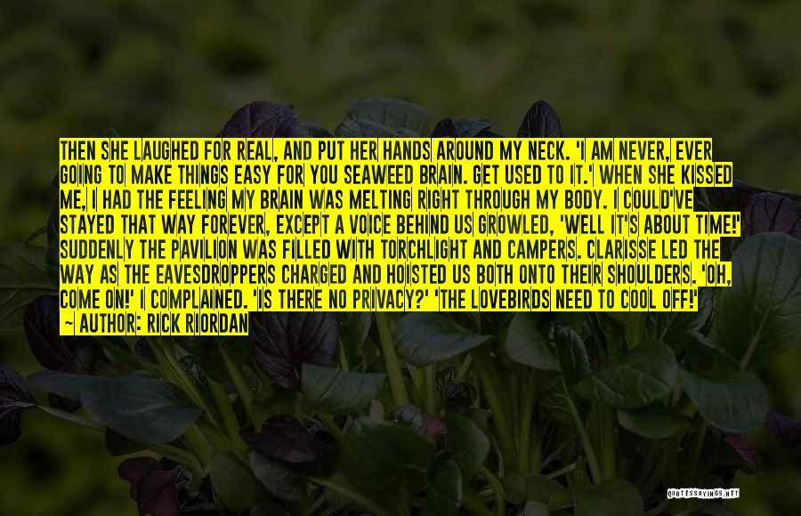 Cheer Voice Over Quotes By Rick Riordan