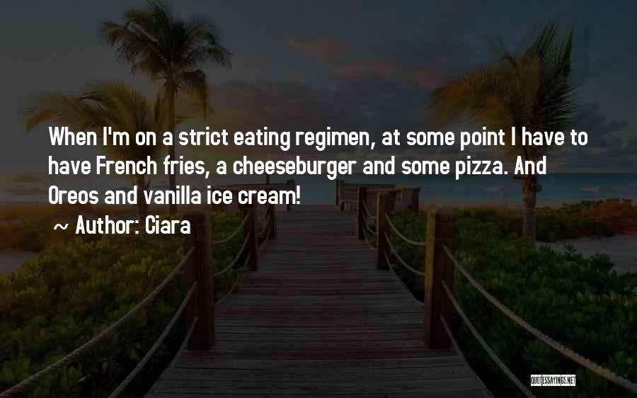 Cheeseburger Quotes By Ciara