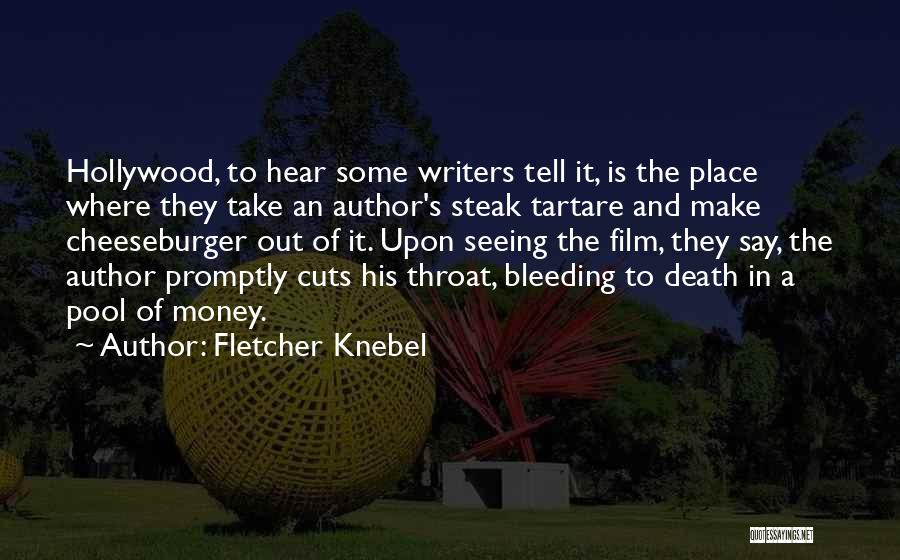 Cheeseburger Quotes By Fletcher Knebel