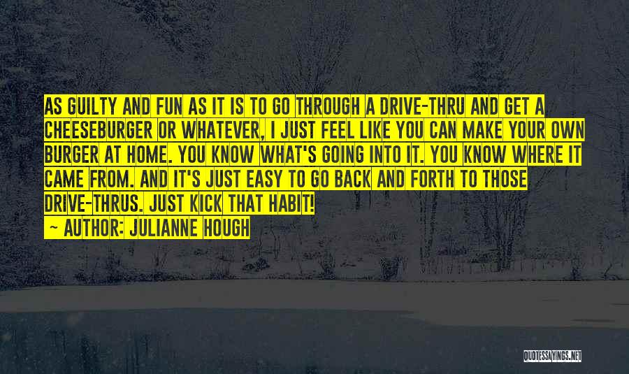 Cheeseburger Quotes By Julianne Hough