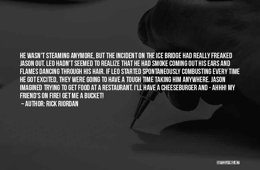 Cheeseburger Quotes By Rick Riordan