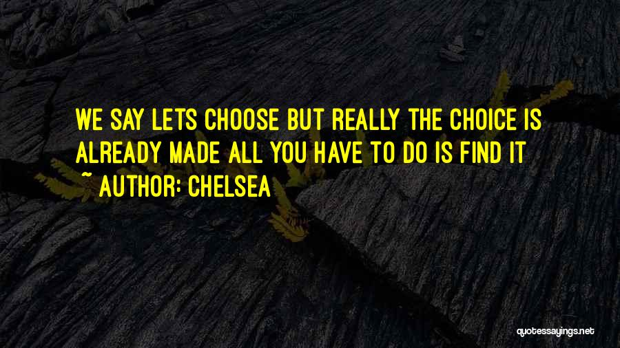 Chelsea Quotes 614360