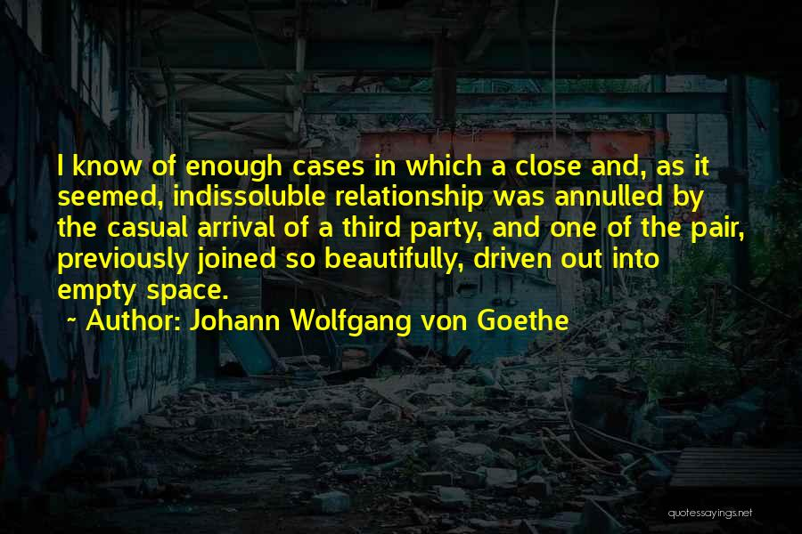 Chemistry In Relationship Quotes By Johann Wolfgang Von Goethe