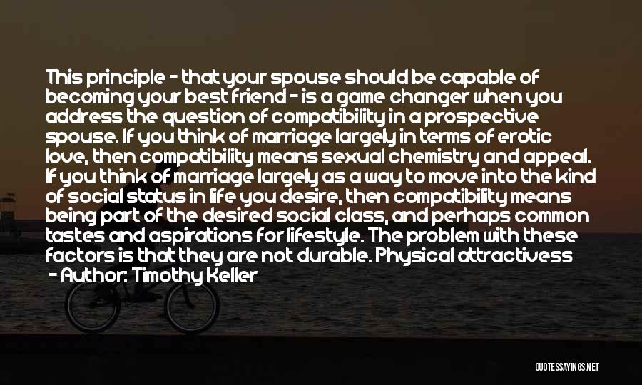 Chemistry In Relationship Quotes By Timothy Keller