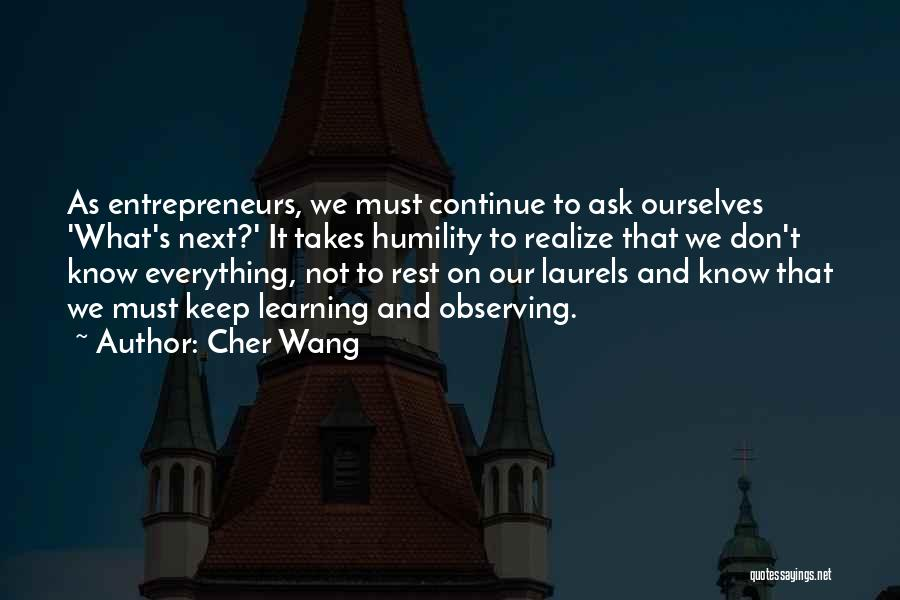 Cher Wang Quotes 438675