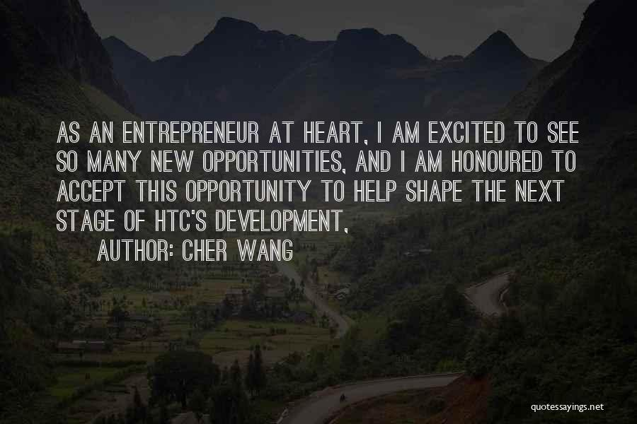 Cher Wang Quotes 658329